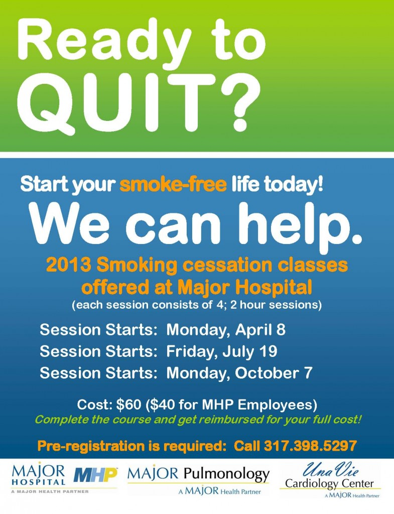 Smoking Cessation Flier