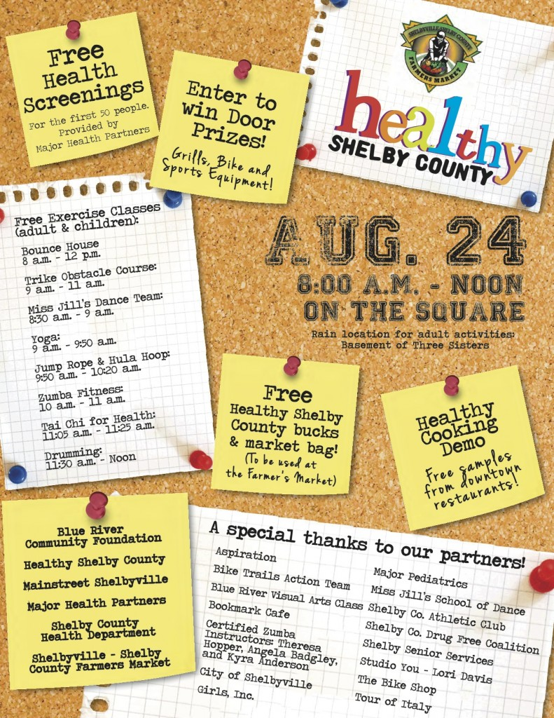 Get Healthy Here  - 2nd flyer